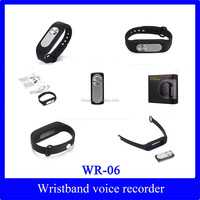 Sport Wristband Rechargeable Audio Voice Recorder Hnsat WR-06