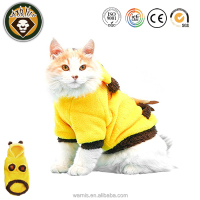 Fleece Pet Hoodie Coat Jacket Clothes Sweater Jumpsuit Outfit Christmas Costume Cloth For Dog