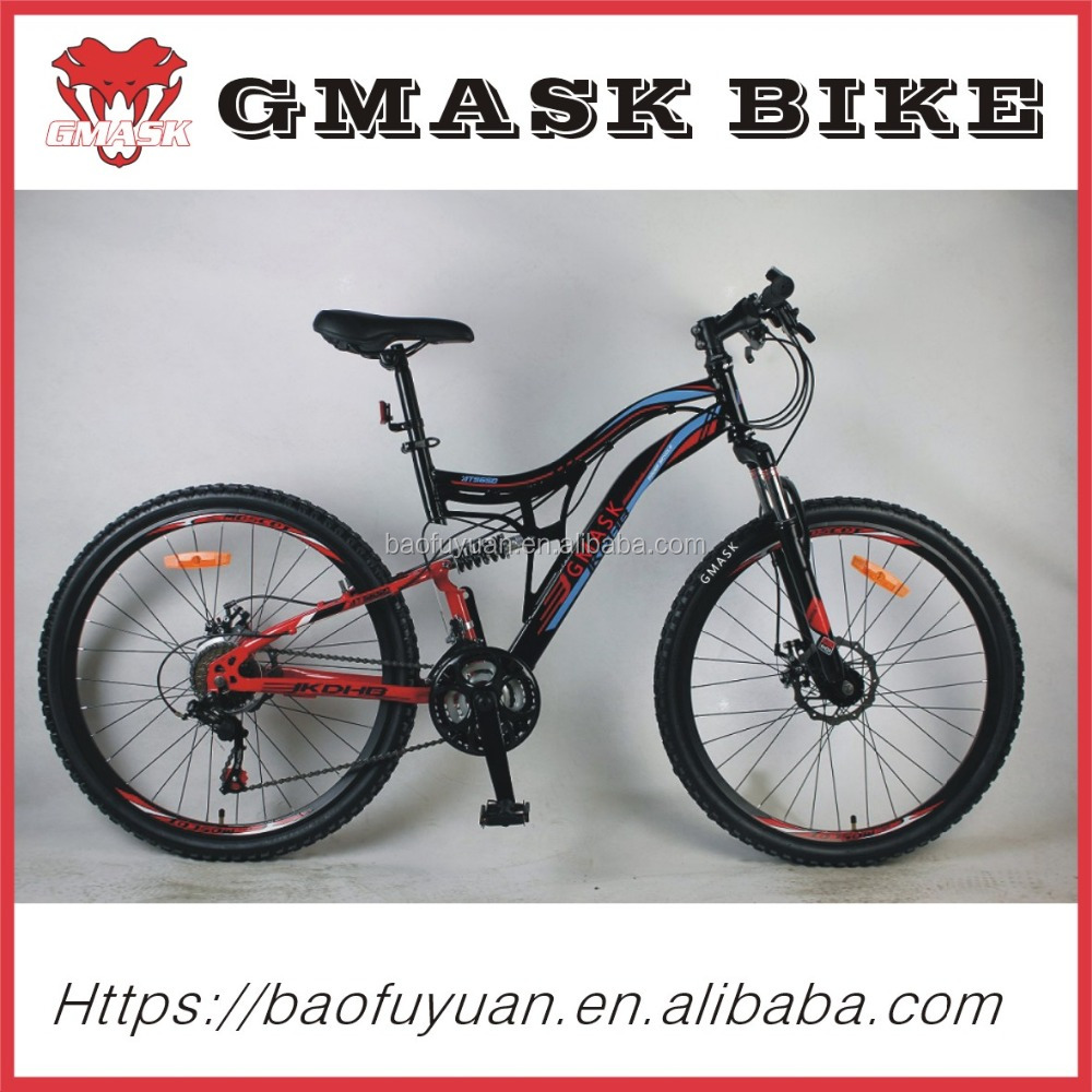 the lastest model and hot selling double disc brake aluminum alloy mountain bike / mtb bycicle/bicycle