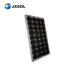 high efficiency flexible 50w mono pv solar panel