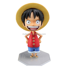 OEM popular custom ONE PIECE plastic Luffy action figure