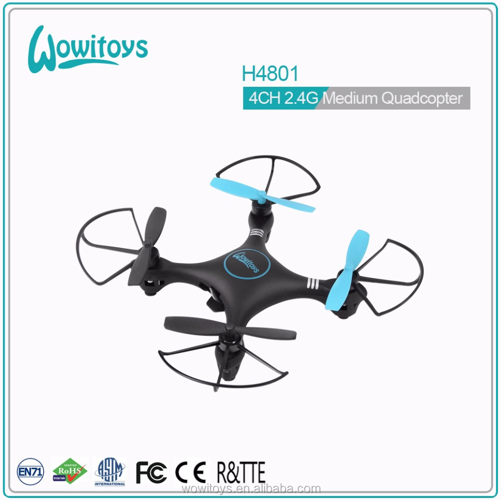 Hot offer wowitoys H4801 mini 2.4g 4ch 4 axis quadcopter mini rc drone