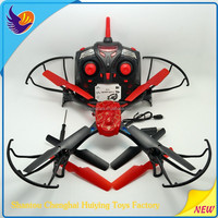Popular 4CH 6 axis controlled rc professional drone with camera remote control helicopter manufacture