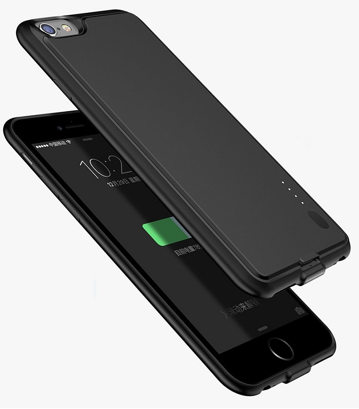 Unique Soft Battery Case Power Bank for iphone 6/6 plus from China