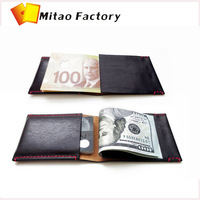 Mexico Manufacturer Amazing Design Minimalist Wallet - Handmade With Premium Vegetable Tanned Italian Leather - Caramel wallet