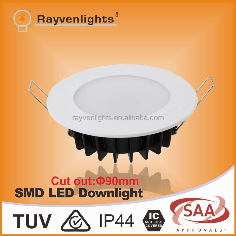 SAA IC-F rated approval EPISTAR 5730 dimmable smd 12w led downlight led light for home