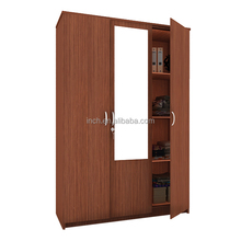 indian style wardrobe/hotel wardrobe furniture/laminated plywood wardrobe