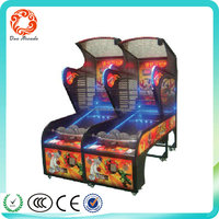 Factory Outlet Coin Operated Indoor Luxury Electronic Basketball Game Machine