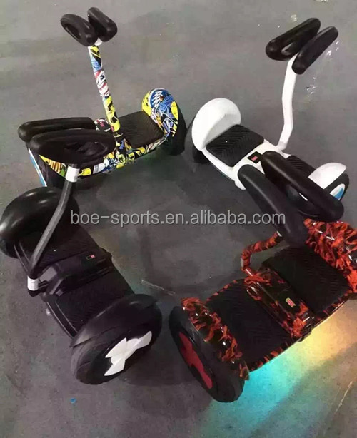 54v 4.4ah smart balance mini 2 wheel chariot electric self balancing scooter 10 inch
