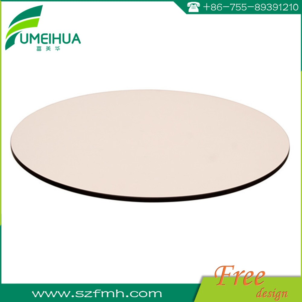 12mm thickness compact laminate sheet of table top / coffee table top