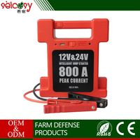 Capacity 24000mAh emergency tool 12V battery jump starter with 14V / 1A car charger