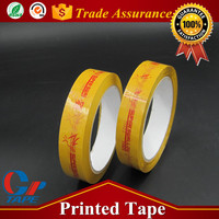 Quality Guaranteed Adhesive Acrylic Bopp Drywall Tape With Logo Printed