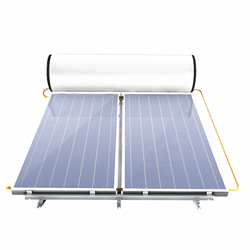 Lowest Price flat panel solar water heater component Flat Panel Integrated Solar Water Heater System