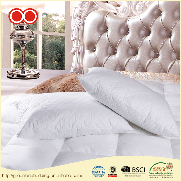 Customized Color 100% Siliconized Polyester Fiber Pillow
