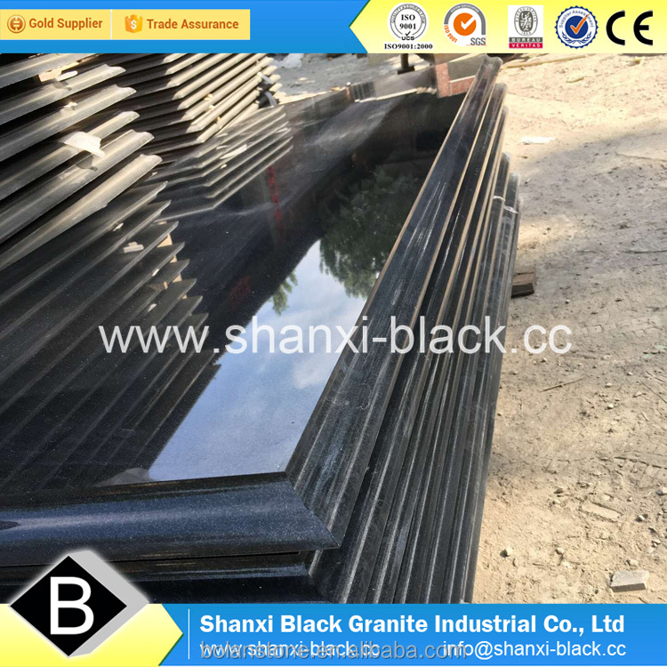 black granite monuments tombstone shanxi black granite memorials best black absolute black granite best prices for sale