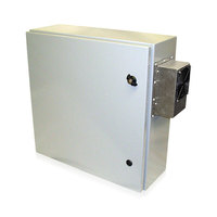 "Protector Series - 1G2424 Prepackaged Wall-mount Air Conditioned Enclosure - 24"" x 24"""
