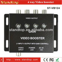 rca 12/24V 4 way video booster