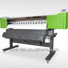 best sells cheap eco solvent vinyl sticker printing cutting machine