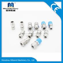 SS304/316L Stainless Steel Tube Male NPT Compression Connector Fitting Adapter
