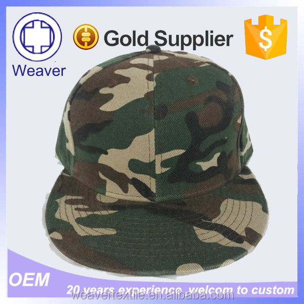 Design Your Own Summer Hats Cheap Hiphop Simple MIlitary Snapback Cap With Your Logo