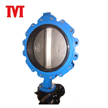 lug type flange high performance butterfly valve