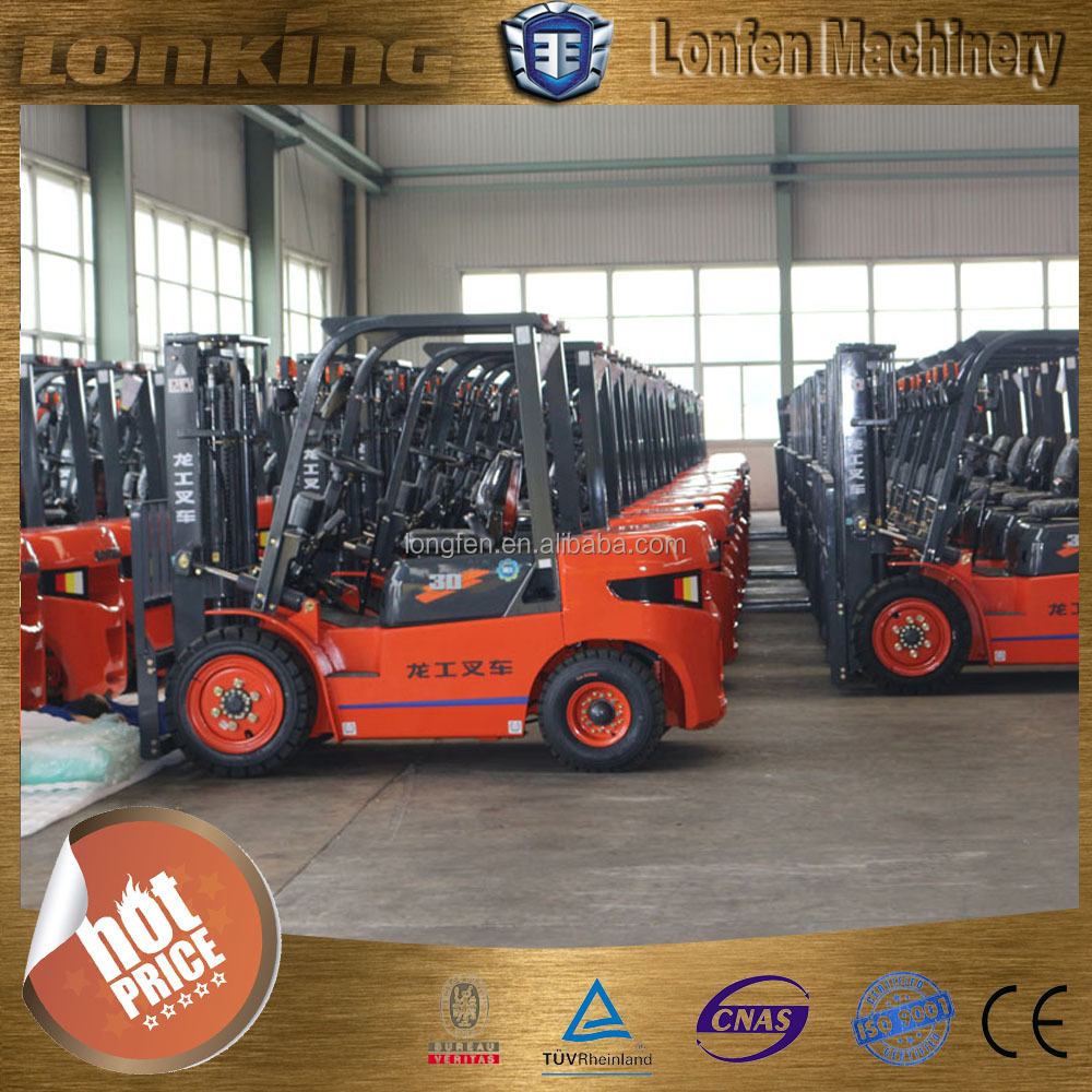LG30DT hot price china Lonking 3 ton tcm forklift with low price