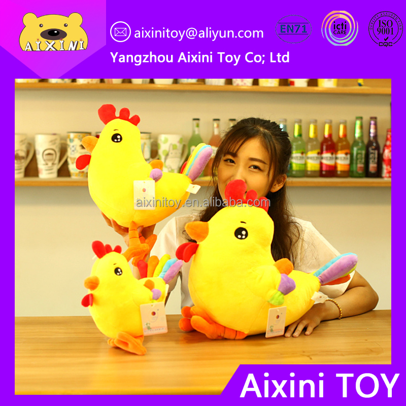wholesale plush animal toy chicken from factory for children