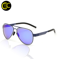 reflective circle sunglasses  sunglasses metal