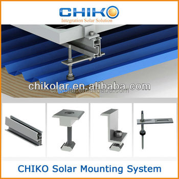Solar Photovoltaic Roof Racking System