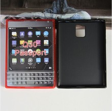 Mix Colors For BlackBerry Passport Q30 Soft Gel TPU Pudding Cover Case