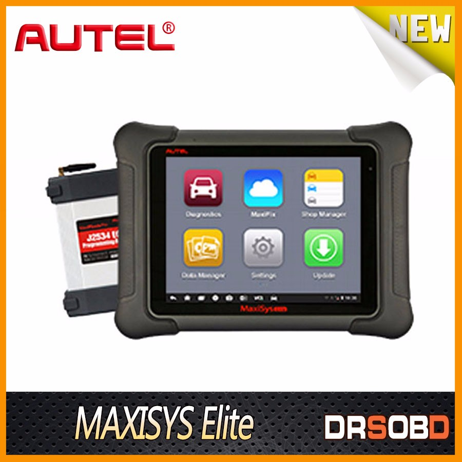 AUTEL Maxisys Elite Free Update From MS908P/MS908 PRO Support J2534 ECU Preprogramming Lastest Diagnostic Tools