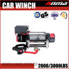4x4 manual DMX 220V car electric hand winch with two way ratchet