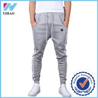 Yihao trade assurance Mens Skinny Harem Sweat Pants Training Jogging Dance Baggy Casual Pants Trousers