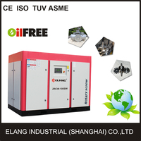 low noise AC power power source oil free air compressor