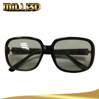 low price plastic lunette polarized 3d glasses