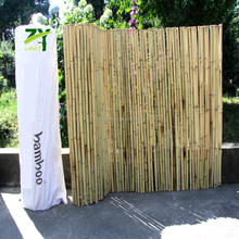 ZY-2005 Factory Wholesale Price Natural Bamboo Roll Screens Roll Fence Garden Rolled Up Fencing