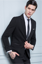 2016 High quality italian style groom wedding suit fashion slim fit mens suit