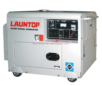 5.0kw Launtop silent diesel generator with 186FA engine(418CC)