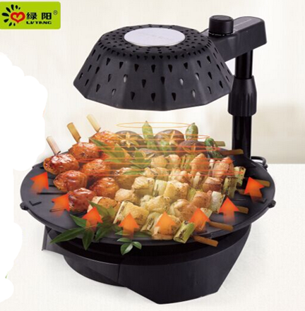 Outdoor Kitchen Supplies smokeless korean table top bbq grills/ gas grill