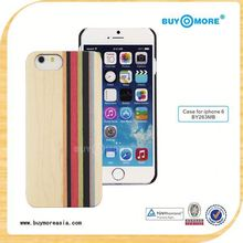 Wholesale Wood PC Case For Iphone6/case for iphone6s case for iphone 5s