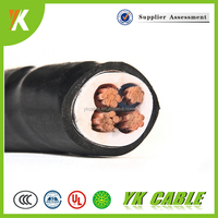 0.6/1KV Power xlpe insulation high quality 4mm 4 core armoured cable
