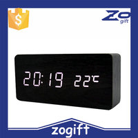 ZOGIFT China F newest Personalized MDF wood material clock