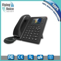 "2016 latest 802.11n wifi voip business phone with 2.8"" TFT colorful LCD,POE optional FIP11W"