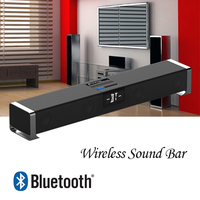 High Quality Bluetooth 4.0 Home Theater Sound Bar with Integrated Deep Bass subwoofer Soundbar bluetooth speaker