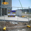 Australia standard construction site temporary metal fence panels