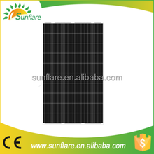 Factory supply high quality 255w solar panel with fine price