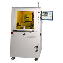 LCD bonding machine with dispensing robot