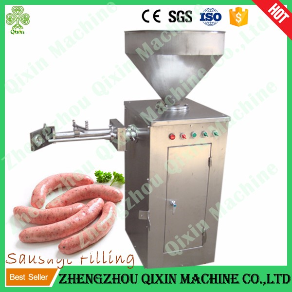 Frankfurter sausage stuffing machine / german sausage maker / commercial sausage making machine