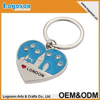 New product customized souvenir metal keychain