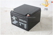 Vrla battery 6dzm24 battery 12v 24ah for alarm system home